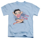 Juvenile: Betty Boop - All American Girl T-shirts
