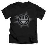 Juvenile: Green Lantern - Black Glow T-Shirt