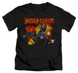 Youth: Judge Dredd - Through Fire T-shirts