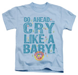 Youth: Dubble Bubble - Cry Like A Baby T-shirts