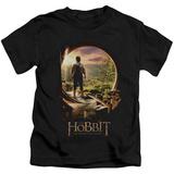 Juvenile: The Hobbit: An Unexpected Journey - Hobbit In Door T-Shirt