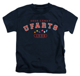 Youth: Farts Candy - Fart University T-shirts