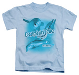 Youth: Dolphin Tale - Winter Collage T-Shirt