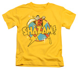 Juvenile: Shazam! - Power Bolt T-Shirt
