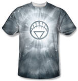Green Lantern - White Energy T-shirts