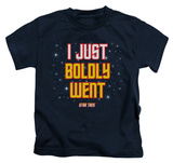 Juvenile: Star Trek - Boldly Went T-Shirt