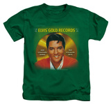 Youth: Elvis Presley - Gold Records Shirts