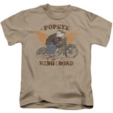 Juvenile: Popeye - King Of The Road T-shirts