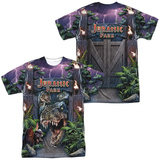 Jurassic Park - Welcome To The Park  (Front/Back Print) T-shirts