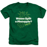 Youth: Psych - Pineapple Split T-Shirt
