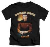 Juvenile: Star Trek - Poker Face T-shirts