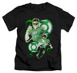 Juvenile: Green Lantern - Green Lantern In Action T-shirts