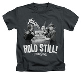 Youth: The Three Stooges - Hold Still T-shirts
