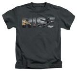 Juvenile: Dark Knight Rises - Title T-shirts