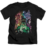 Juvenile: Green Lantern - The New Guardians T-shirts