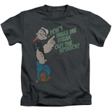 Juvenile: Popeye - Break Out Spinach T-Shirt