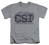 Juvenile: CSI - Distressed Logo T-shirts