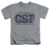 Youth: CSI - Distressed Logo T-shirts