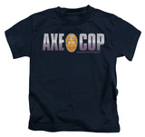 Youth: Axe Cop - Axe Cop Logo T-Shirt