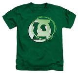 Juvenile: Green Lantern - Green Lantern Energy Logo T-Shirt