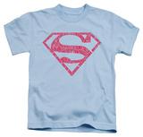 Juvenile: Superman - Word Shield T-Shirt