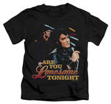 Youth: Elvis Presley - Are You Lonesome T-shirts