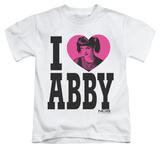Juvenile: NCIS - I Heart Abby T-shirts