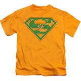 Youth: Superman - Brazil Shield T-Shirt