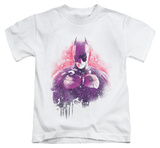 Juvenile: Dark Knight Rises - Spray Bat T-Shirt