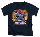 Youth: Batman The Brave and the Bold - Explosive Heroes T-Shirt