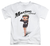 Youth: Betty Boop - Marine Boop T-Shirt