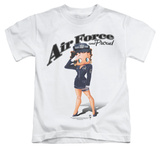 Juvenile: Betty Boop - Air Force Boop T-Shirt