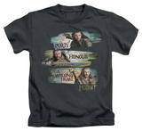 Juvenile: The Hobbit: An Unexpected Journey - Loyalty And Honour Shirt