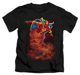 Juvenile: Red Tornado - Tornado Cloud T-shirts
