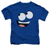 Juvenile: Foster's Home for Imaginary Friends - Blue Face Shirts