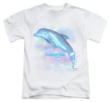 Youth: Dolphin Tale - Winter Water Color T-Shirt