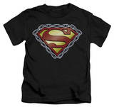 Juvenile: Superman - Chained Shield T-shirts