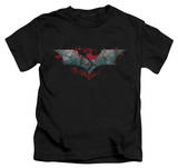 Juvenile: Dark Knight Rises - Split & Crack Logo Shirt