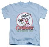 Juvenile: Courage The Cowardly Dog - Vintage Courage Shirt