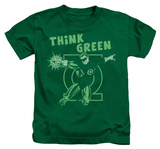 Juvenile: Green Lantern - Think Green T-Shirt