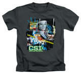 Youth: CSI - Evidence Collage Shirts
