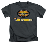 Youth: Survivor - Tribe Has Spoken T-shirts