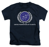 Juvenile: Star Trek - United Federation Logo T-shirts