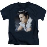 Juvenile: Elvis Presley - Blue Profile T-shirts