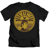Youth: Elvis Presley - Elvis Full Sun Label T-shirts