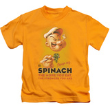 Youth: Popeye - Spinach Retro T-shirts