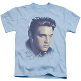 Youth: Elvis Presley - Big Portrait Shirts