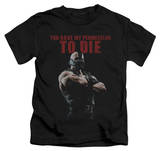 Juvenile: Dark Knight Rises - Permission To Die T-Shirt