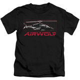 Youth: Airwolf - Grid T-Shirt