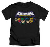 Youth: Batman The Brave and the Bold - Head Lineup T-Shirt